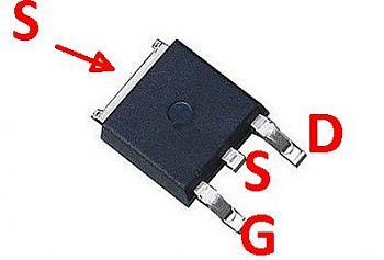 Clicca l'immagine per ingrandirla.  Nome: SMD-MOSFET2.jpg Visualizzazioni: 463 Dimensione: 18.4 KB ID: 10411