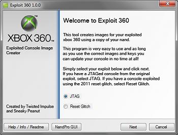 Exploit 360, tool per la creazione dell'immagine per Reset Glitch Hach-exploit360.png