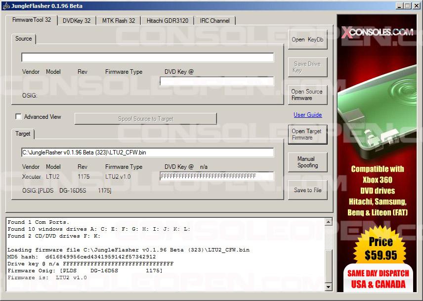 firmware ltu2 1532