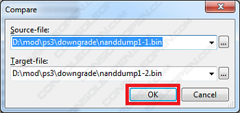 [TUTORIAL] Analisi e validazione dei dump dual NAND e NOR-filecomparenand.png