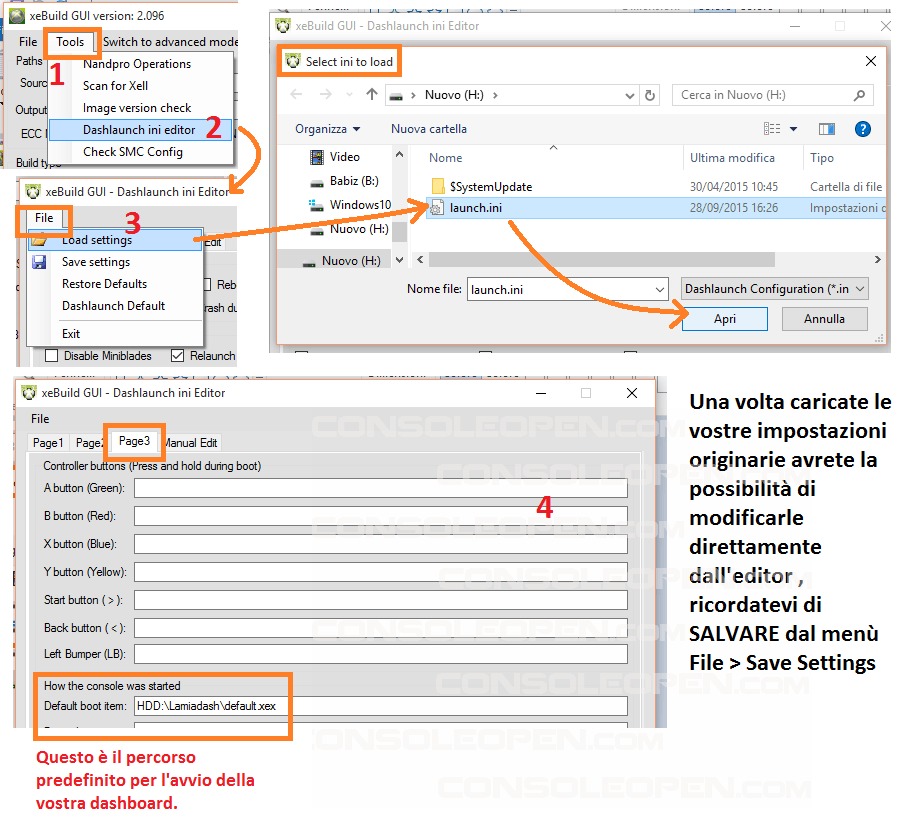 Guida XEBUILDGUI v2.xx & SIMPLE360NANDFLASHER 1.xx BETA di Swizzy-13a-openlaunchini.png
