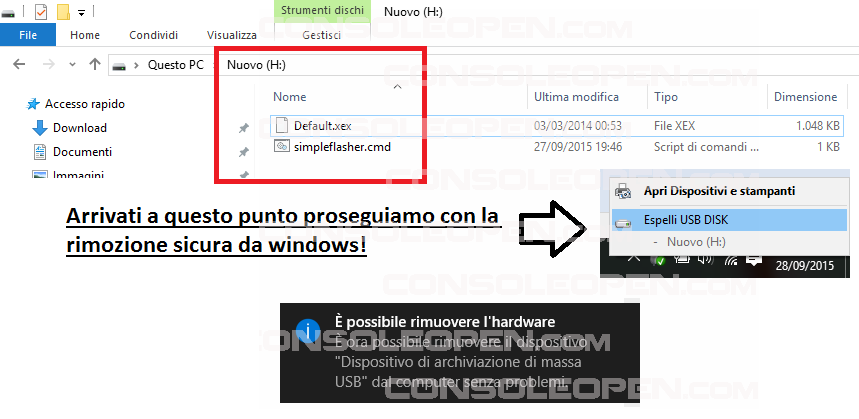 Guida XEBUILDGUI v2.xx & SIMPLE360NANDFLASHER 1.xx BETA di Swizzy-9-saferemovesnf.png