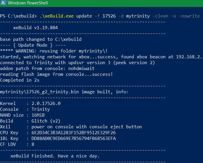 Nome: test xebuild update.png Visite: 676 Dimensione: 26.5 KB